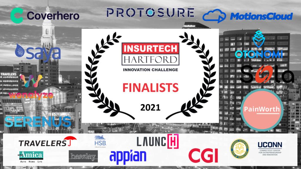 Insurtech Hartford Innovation Challenge 2021 Wenalyze as finalists