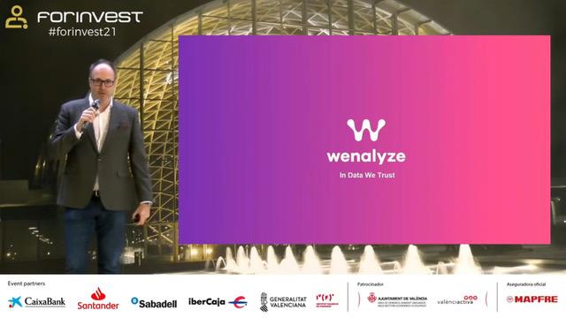 Wenalyze Forinvest Finntech and Innovation Forum, Startup Valencia