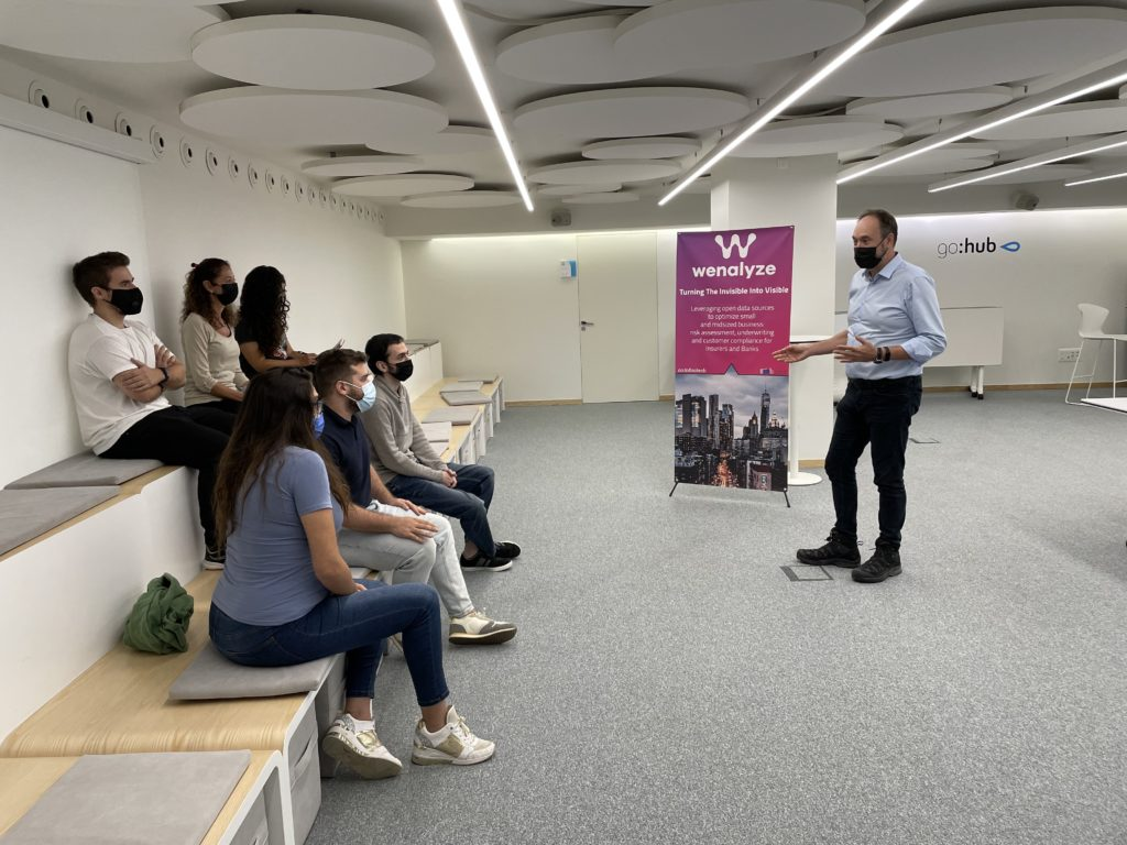 Wenalyze's team undergoes training on environmental sustainability in the company, aiming to keep contributing to the climate action.