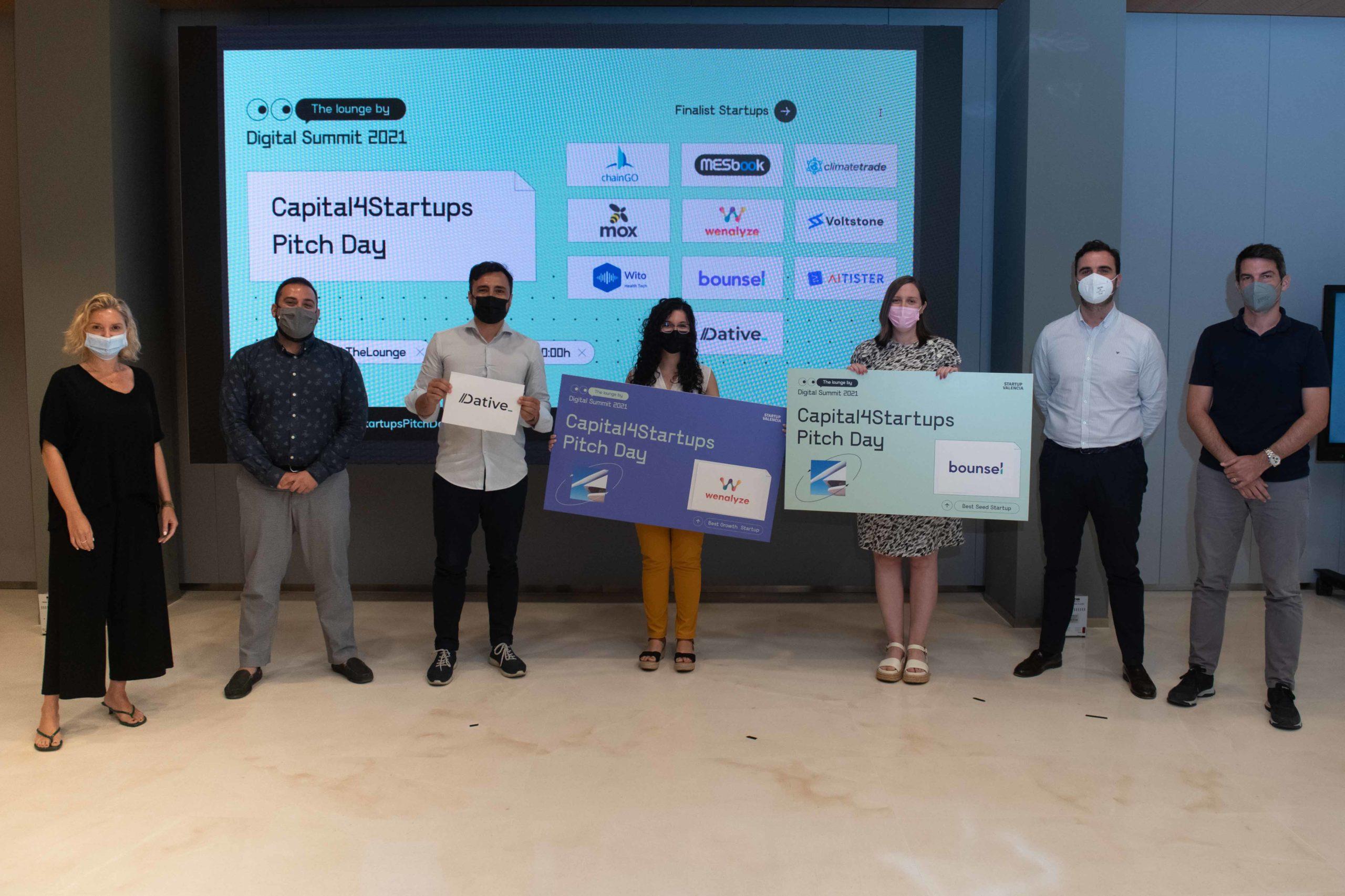 Wenalyze wins the Capital4Startups by Startup Valencia