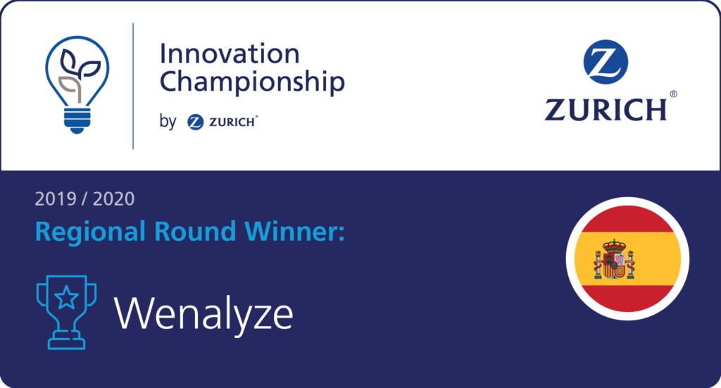 Wenalyze will represent EMEA at Zurich Innovation Championship 2020